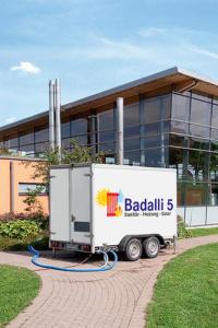 Heizung Sanitär und Solar für den Raum Illertissen, Neu-Ulm, Ulm: Mobile Heizzentrale von Badalli 5 aus Illerrieden