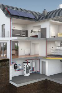Badalli 5 - Sanitär - Heizung - Solar: Heizen mit Solarenergie, Plan einer Solarthermie Anlage