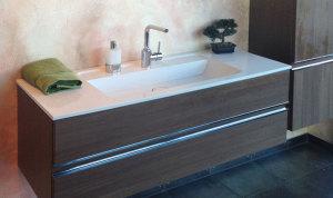 Freischwebender Waschtisch, eingebaut von Badalli 5, Ihr Ansprechpartner für Heizung, Sanitär und Solar in Ulm und Umgebung