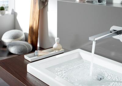 Badalli 5 - Sanitär - Heizung - Solar: Badgestaltungen, Waschbeckeneinbau