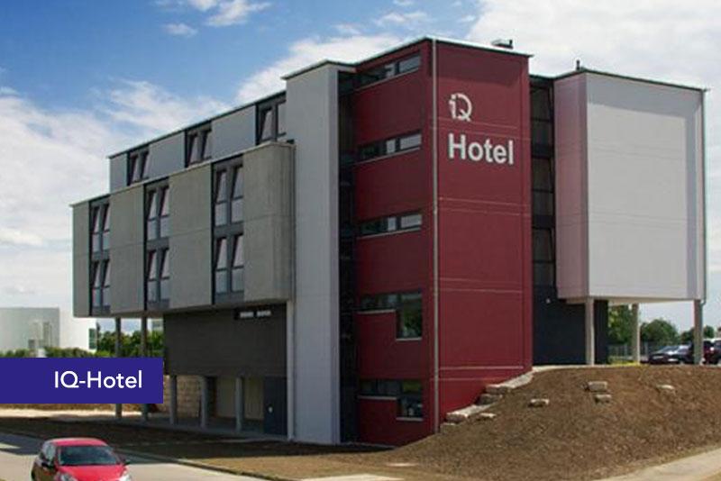 Badalli 5 - Sanitär - Heizung - Solar - Referenzen: IQ-Hotel Ulm